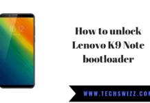 Lenovo K9 Note 2019