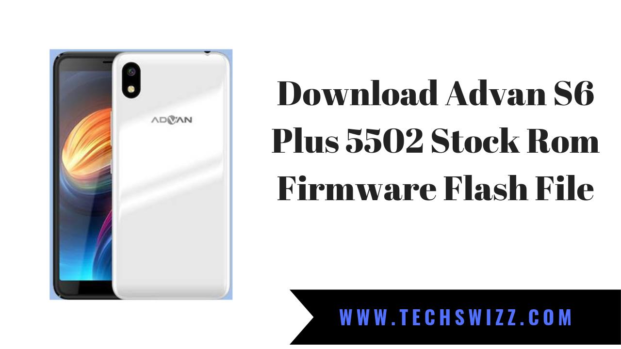 Download Advan S6 Plus 5502 Stock Rom Firmware Flash File
