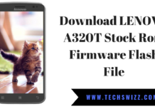 Download LENOVO A320T Stock Rom Firmware Flash File