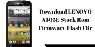 Download Lenovo A319 Stock Rom Firmware Flash File ~ Techswizz
