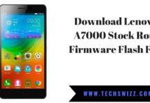 Download Lenovo A7000 Stock Rom Firmware Flash File