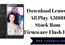 Download Lenovo A8 Play A3860 Stock Rom Firmware Flash File
