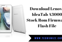 Download Lenovo IdeaTab A3000 Stock Rom Firmware Flash File