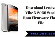 Download Lenovo Vibe X S960 Stock Rom Firmware Flash File