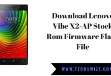 Download Lenovo Vibe X2-AP Stock Rom Firmware Flash File