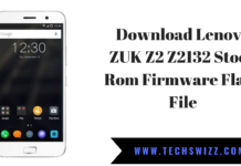 Download Lenovo ZUK Z2 Z2132 Stock Rom Firmware Flash File