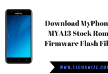 Download MyPhone MYA13 Stock Rom Firmware Flash File