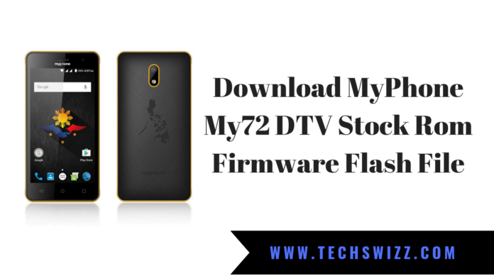 MyPhone My72 DTV Stock Rom Firmware Flash File