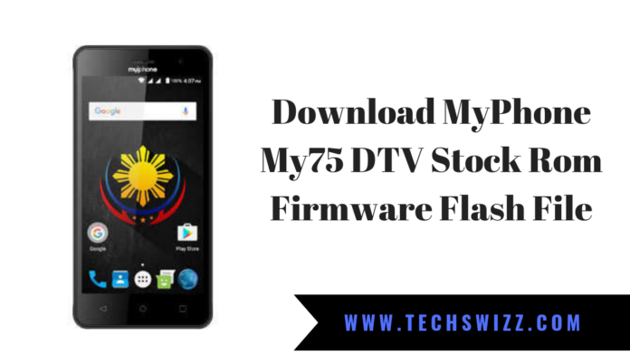 Download MyPhone My75 DTV Stock Rom Firmware Flash File