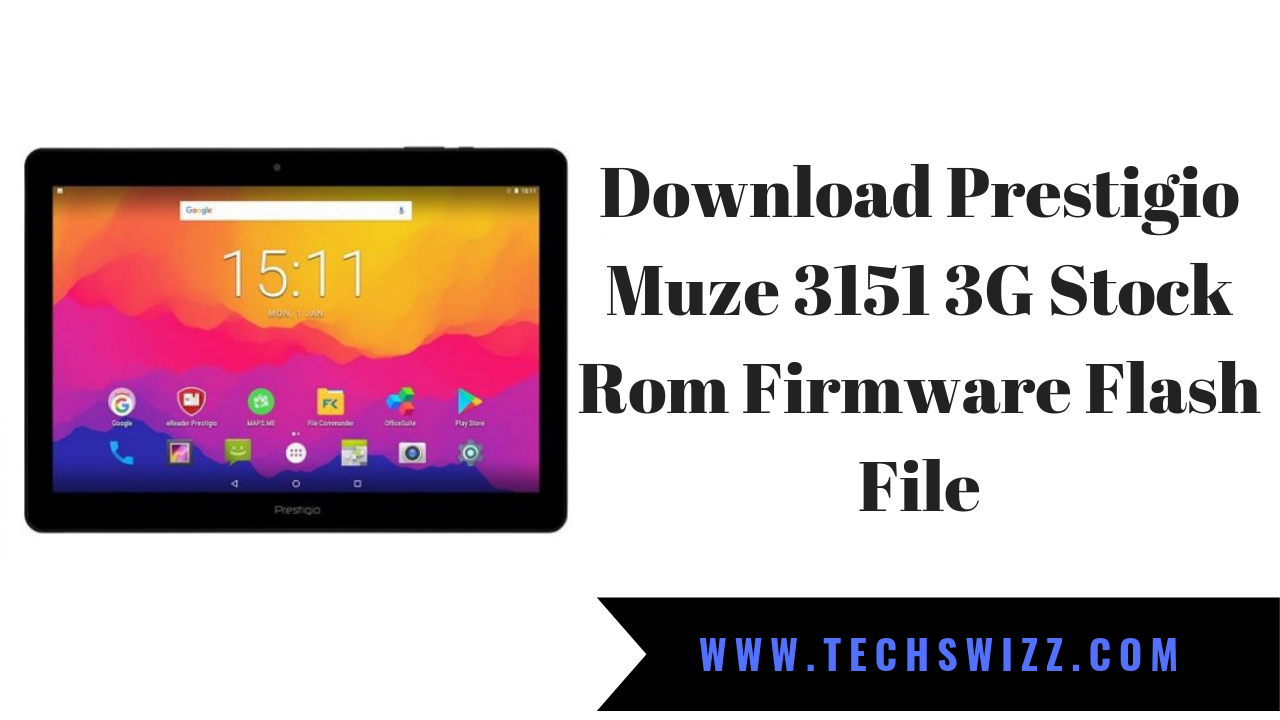 Download Prestigio Muze 3151 3G Stock Rom Firmware Flash File