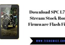 Download SPC L70 Stream Stock Rom Firmware Flash File