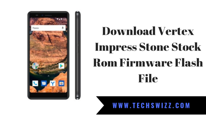 Download Vertex Impress Stone Stock Rom Firmware Flash File