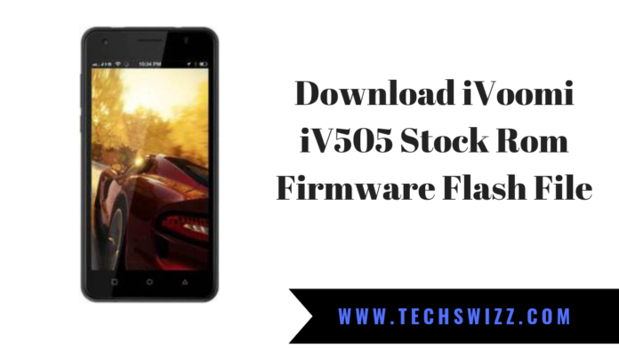 Download iVoomi iV505 Stock Rom Firmware Flash File
