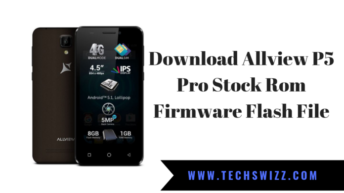 Download Allview P5 Pro Stock Rom Firmware Flash File