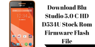 Download Blu Studio 5.0 C HD D534U Stock Rom Firmware Flash File