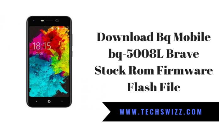 Download Bq Mobile bq-5008L Brave Stock Rom Firmware Flash File