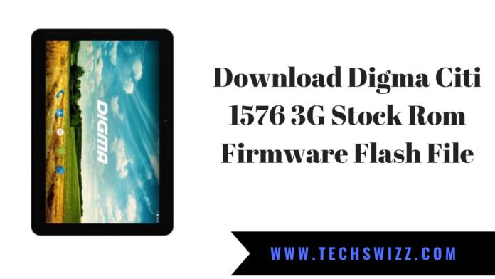 Download Digma Citi 1576 3G Stock Rom Firmware Flash File