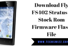 Download Fly FS402 Stratus 2 Stock Rom Firmware Flash File