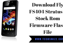 Download Fly FS404 Stratus 3 Stock Rom Firmware Flash File