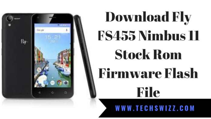 Download Fly FS455 Nimbus 11 Stock Rom Firmware Flash File