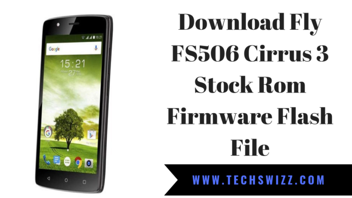 Download Fly FS506 Cirrus 3 Stock Rom Firmware Flash File