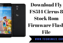 Download Fly FS514 Cirrus 8 Stock Rom Firmware Flash File