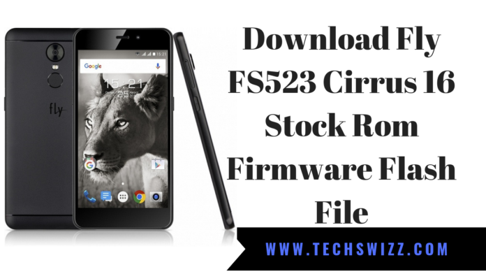 Download Fly FS523 Cirrus 16 Stock Rom Firmware Flash File