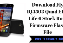 Download Fly IQ4503 Quad ERA Life 6 Stock Rom Firmware Flash File