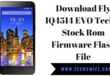 Download Fly IQ4514 EVO Tech 4 Stock Rom Firmware Flash File