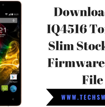 Download Fly IQ4516 Tornado Slim Stock Rom Firmware Flash File