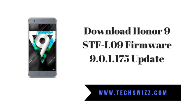 Download Honor 9 STF-L09 Firmware 9.0.1.175 Update
