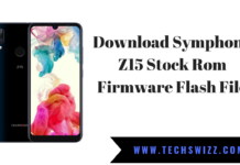 Download Symphony Z15 Stock Rom Firmware Flash File