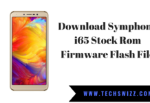 Download Symphony i65 Stock Rom Firmware Flash File