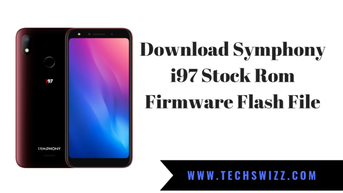 Download Symphony i97 Stock Rom Firmware Flash File