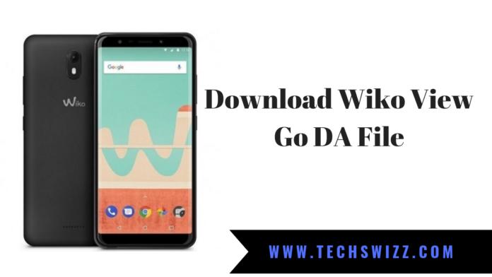 Download Wiko View Go DA File