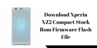 Download Xperia XZ2 Compact Stock Rom Firmware Flash File