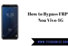 How to Bypass FRP on Noa Vivo 4G