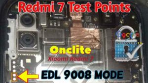 How to boot Redmi 7 to EDL 9008 Mode (Redmi 7 test Point Pinout