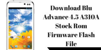 Download Blu Advance 4.5 A310A Stock Rom Firmware Flash File