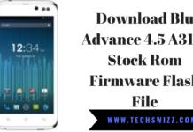 Download Blu Advance 4.5 A310i Stock Rom Firmware Flash File