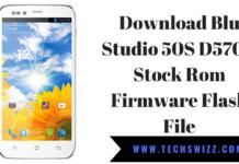 Download Blu Studio 50S D570A Stock Rom Firmware Flash File