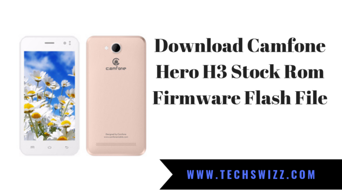 Download Camfone Hero H3 Stock Rom Firmware Flash File