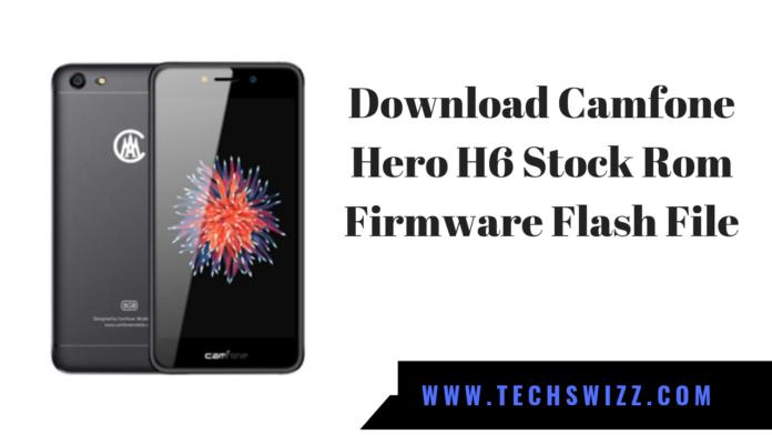 Download Camfone Hero H6 Stock Rom Firmware Flash File