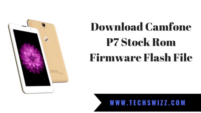 Download Camfone P7 Stock Rom Firmware Flash File