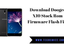 Download Doogee X10 Stock Rom Firmware Flash File