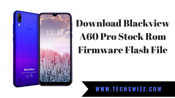 Download Blackview A60 Pro Stock Rom Firmware Flash File