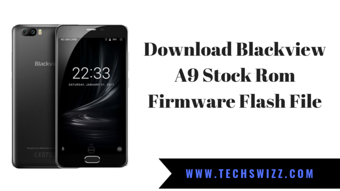 Download Blackview A9 Stock Rom Firmware Flash File