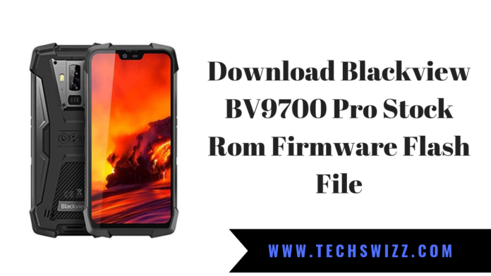 Download Blackview BV9700 Pro Stock Rom Firmware Flash File