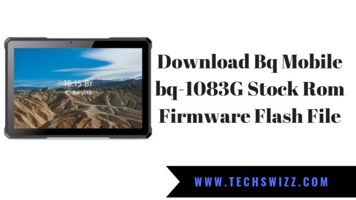 Download Bq Mobile bq-1083G Stock Rom Firmware Flash File