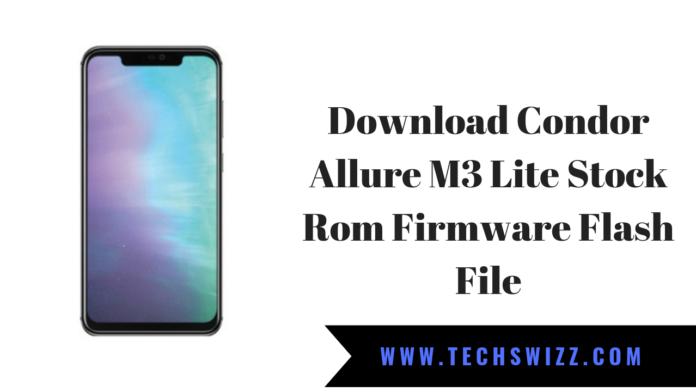 Download Condor Allure M3 Lite Stock Rom Firmware Flash File